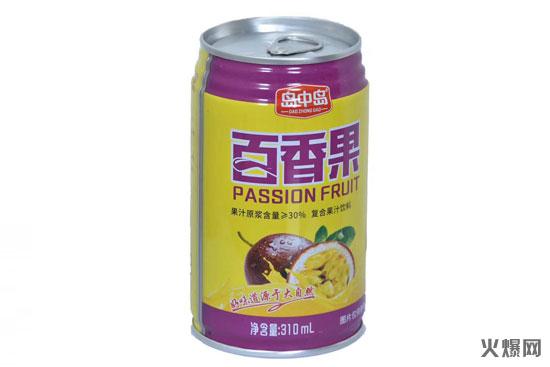 岛中岛百香果果汁饮料