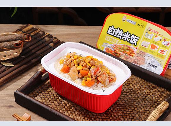 中味食府宫爆鸡丁自热米饭