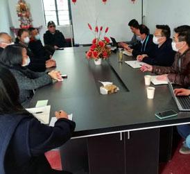 上海蔬菜食用菌行业协会与农委信息中心联合到奉贤爵森合作社调研