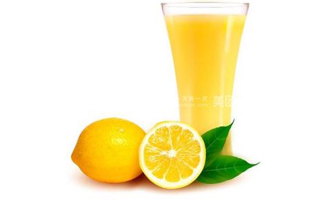 柠檬汁的功效与作用